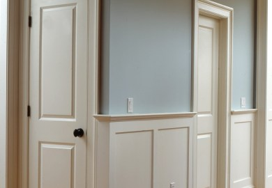 Tall Wainscoting Dining Room
