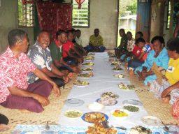 Interns farewell feast HS