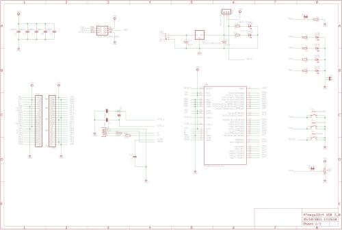 small resolution of building the atmega32u4 usb development board