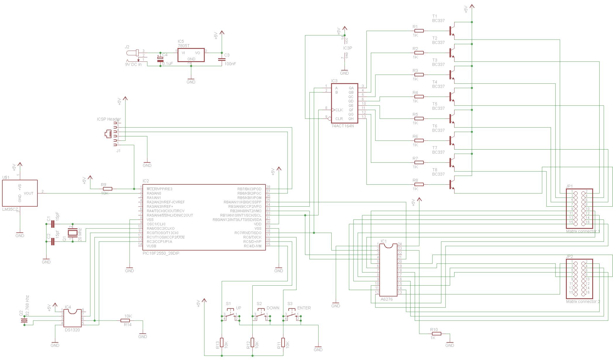 pic programmer circuit diagram