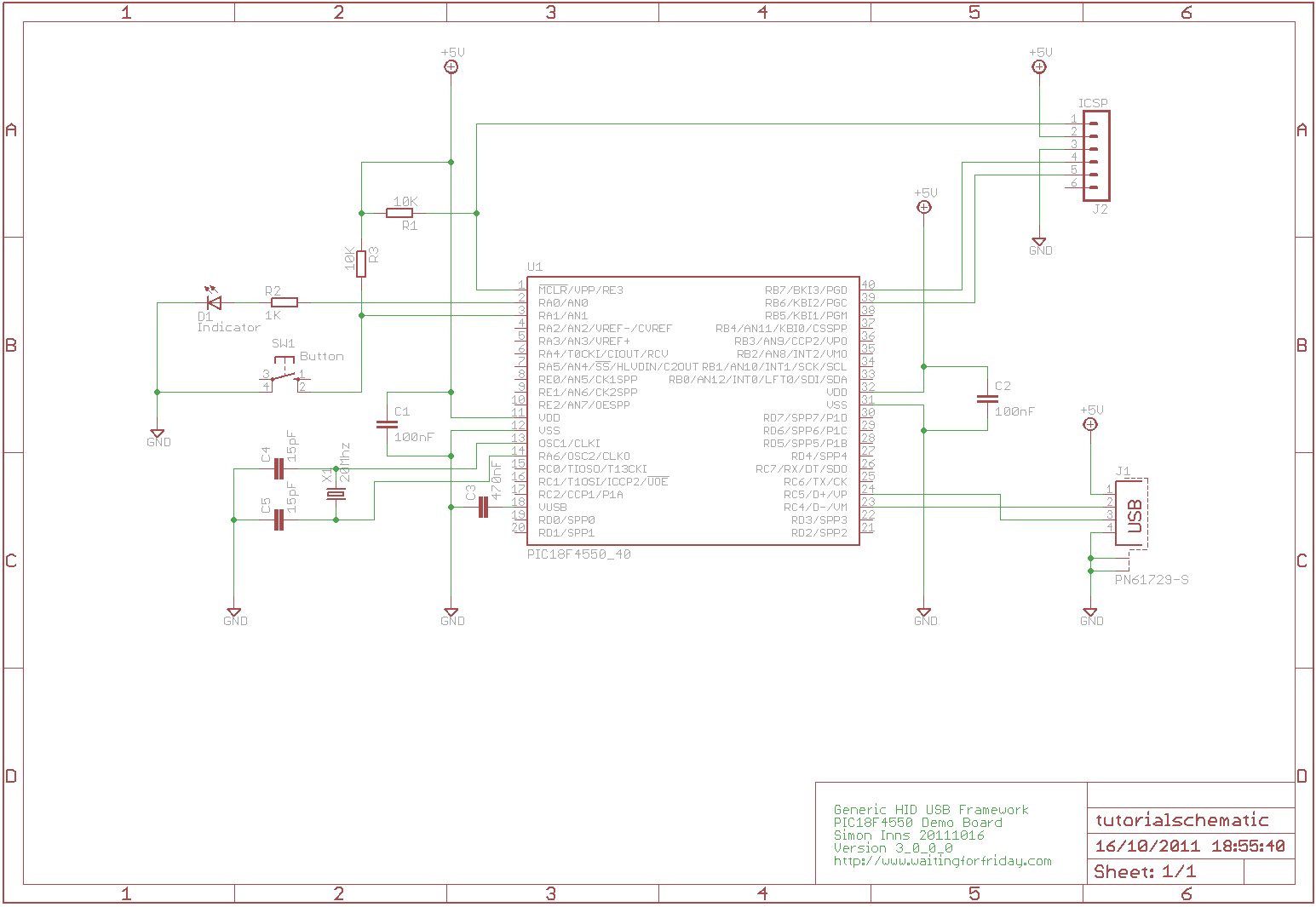 Building a PIC18F USB device