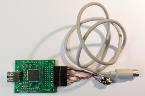 small resolution of smallymouse2 with an acorn a400 cable and dc jack