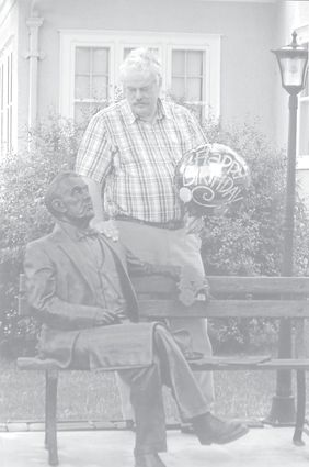 2 rocking chairs instrumental amazon ergonomic office chair a man and an act that changed our lives the times waitsburg resident gary hofer bronze statue of his great grandfather sen george norris in mccook nebraska whose efforts were