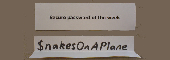 How did the a Strong Password look like in 2010?