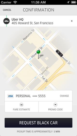 Uber should be the king of all Travel Apps!