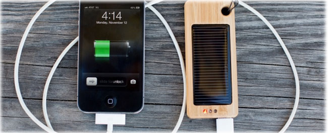 budget-gifts-Bamboo-Solar-Charger