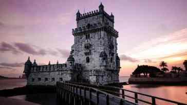 Lizbona wieża Belem