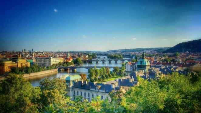 Praga widok z góry