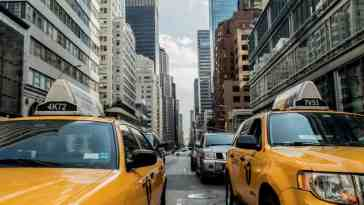 Yellow cab w USA