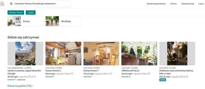 Wakacje na własną rękę w Lamezia Terme w- nocleg w airbnb w maju 2019