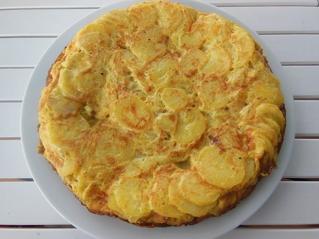 Alicante, Hiszpania - tortilla ziemniaczana