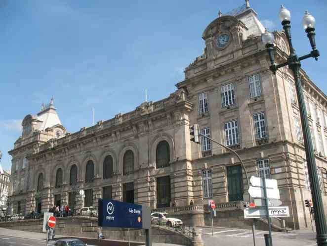 Dworzec Sao Bento w Porto