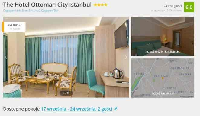 Hotel Otoman w Stambule znaleziony w Agoda