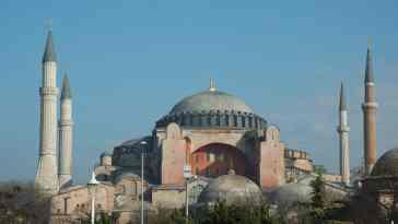 Meczet w Istambule
