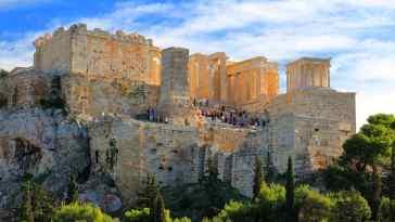 Ateny we wrześniu 2019