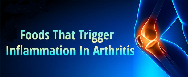 Foods that trigger inflamation in arthritis such as gluten!
