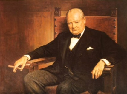 """Churchill """"Fight them on the beaches!"""" speech in the House of Commons on Dunkirk."""