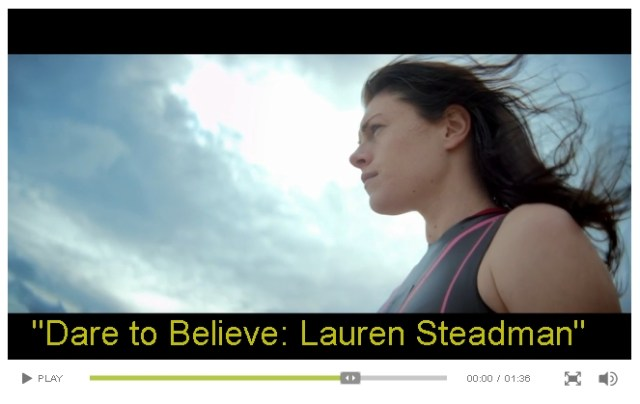 Dare to Believe - Lauren Steadman - click the picture to play the video.
