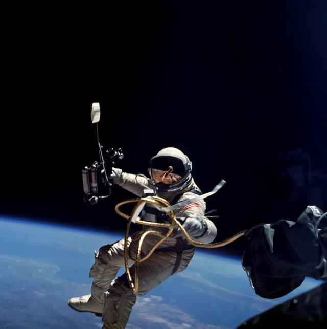 First American space walk 1965