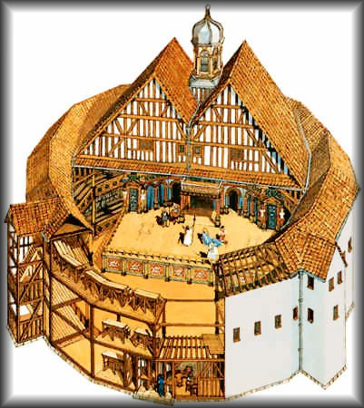 Because of the numerous destructions of the original Globe Theater, there are no surviving pictures or documents on how it actually looked, but based upon sketches and recordings of nearby theaters in London, a basic format of the Globe Theater has been compiled.