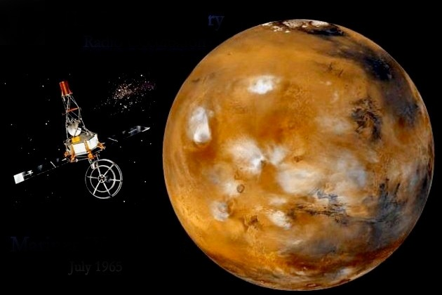 On 14 July 1965 Mariner 4 performed the first successful flyby of the planet Mars. It captured the first images of another planet ever taken from deep space.