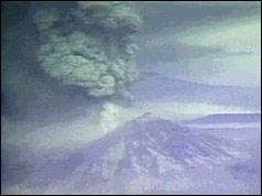 Mount St Helen Erupting 1980-05-19