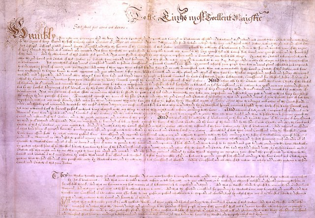 The Petition Exhibited to His Majestie by the Lordes Spirituall and Temporall and Commons in this present Parliament assembled concerning divers Rightes and Liberties of the Subjectes: with the Kinges Majesties Royall Aunswere thereunto in full Parliament.