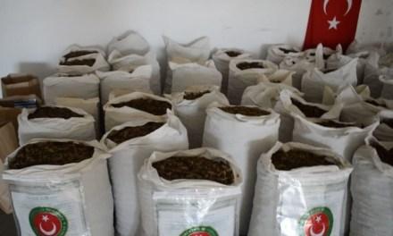 Turkish Customs Seize 1.5 Tons Of Hashish At Greek Border