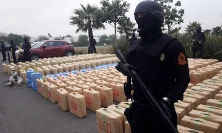 Morocco's National Brigade of Judicial Police Seize 10 Tons Of Hashish