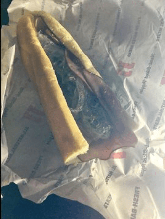 Delivery Driver Hid His Weed In A Sub Sandwich !