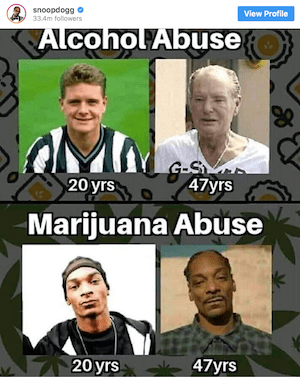 Gazza vs the Doggg… On Cannabis & Other Things