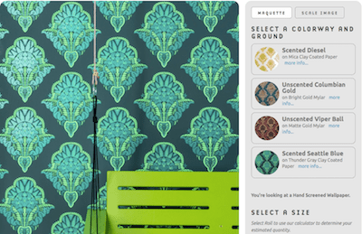 And this week's beyond pointless product is….  Scratch-and-sniff wallpaper that smells like weed