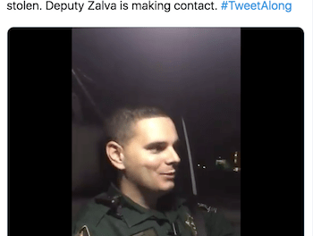 A Florida man called the sheriff's office to report stolen marijuana. The deputy's response: 'Stop calling'