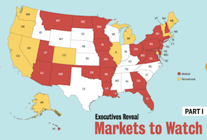 MJ Biz Feature Article: Top executives from marijuana MSOs detail their favorite state cannabis markets and their plans going forward