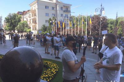 Ukraine: Rally for legalization of medical cannabis held in Kyiv