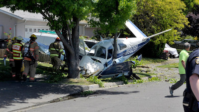 Oregon: Crashed Pot Plane Passenger Heads To Court