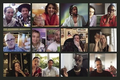 LA Times Reports… Getting high with strangers on Zoom didn't sound like fun. Then I did it
