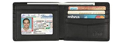 Wallet for Men-Genuine Leather RFID Blocking Bifold Stylish Wallet With 2 ID Window-5 Best Wallets for Men