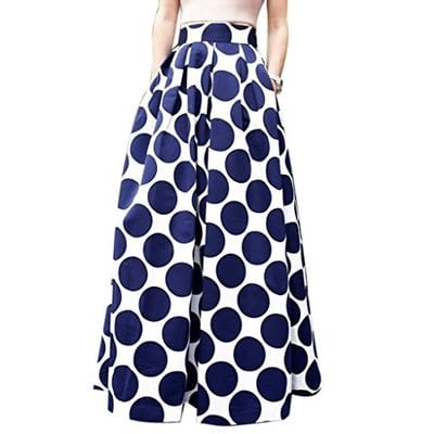 CHOiES Polka Dot Maxi Skirt-5 Best Maxi Skirts
