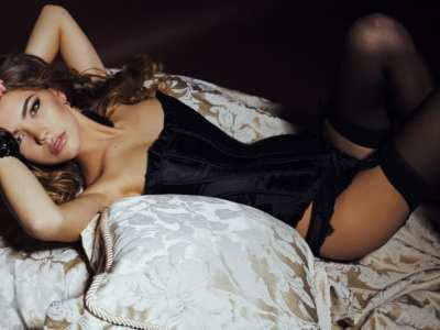 best corsets - woman in lingerie