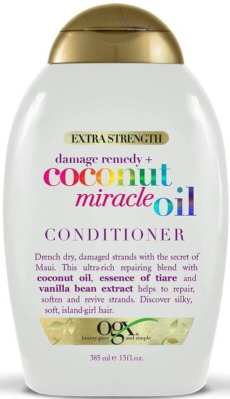 Best Conditioners For Wavy Hair - OGX Extra Strength Damage Remedy + Coconut Miracle Oil Conditioner