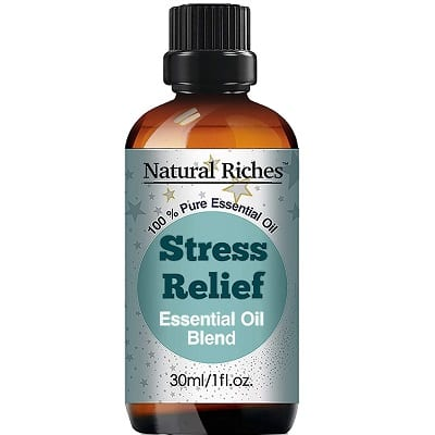 Best Essential Oils for Stress - Natural Riches Blend