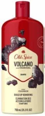 Best Men's Shampoos - Old Spice Shampoo for Men Charcoal Build-Up Removing, Volcano