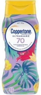 Best Sunscreen Lotions - Coppertone ULTRA GUARD Sunscreen Lotion Broad Spectrum SPF 70