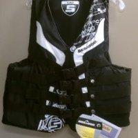 Sea-Doo Boat/Ski/Wakeboard/PWC Life Vest Jacket PFD XL Black
