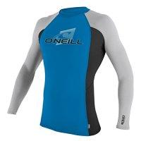O'Neill Wetsuits UV Sun Protection Men's Skins Long Sleeve Crew Rashguard