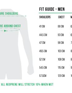 Follow vests men also wakeboard size charts rh wakeboardonline