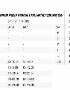 Jobe vests men also wakeboard size charts rh wakeboardonline