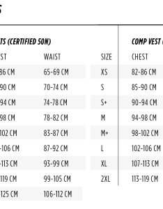 Jobe vests women also wakeboard size charts rh wakeboardonline