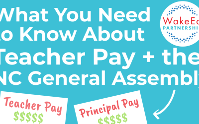 Teacher Pay and the NC General Assembly